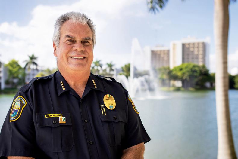 University of Miami Police Chief David Rivero